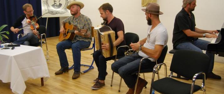 Koncert skupine Pine Leaf Boys iz Louisiane (galerija slik)