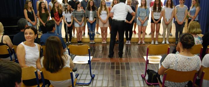 Pevski zbor je poskrbel za uvod.