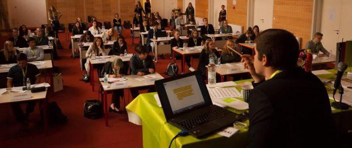 Dijaki Srednje šole Josipa Jurčiča v vlogi delegatov UNESCO